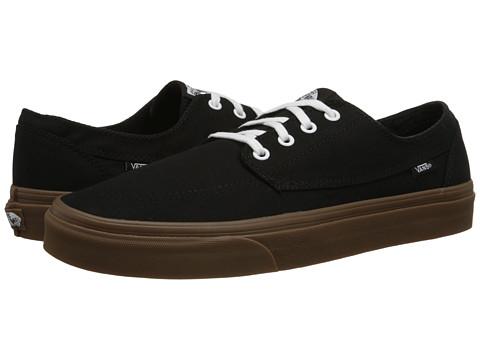 Vans - Brigata ((Gumsole) Black) Skate Shoes