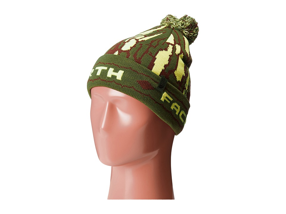 The North Face Kids - Ski Tuke (Big Kids) (Scallion Green) Beanies