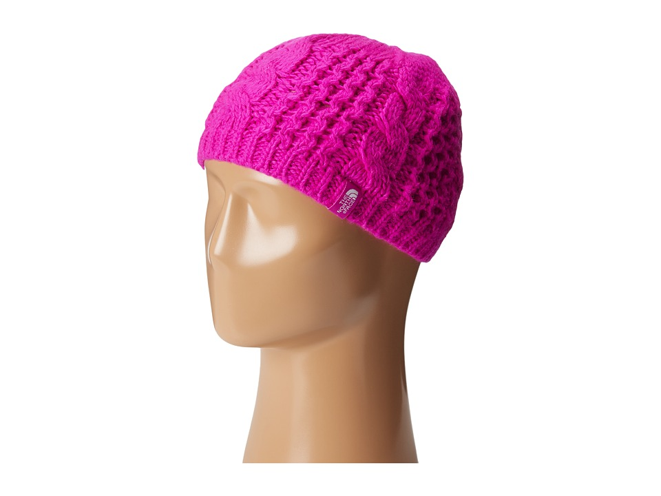 The North Face Kids - Cable Minna Beanie (Big Kids) (Luminous Pink) Beanies