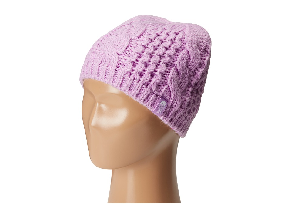 The North Face Kids - Cable Minna Beanie (Big Kids) (Bloom Purple) Beanies