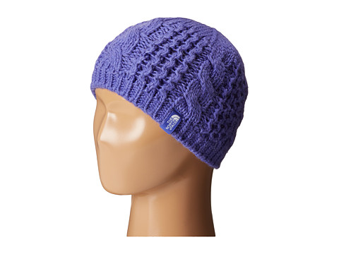 The North Face Kids - Cable Minna Beanie (Big Kids) (Starry Purple) Beanies