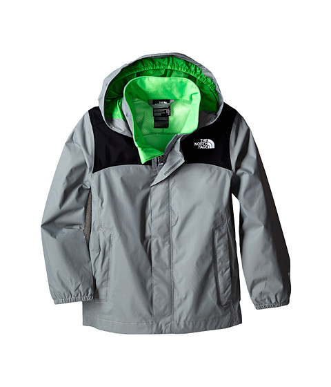The North Face Kids - Resolve Reflective Jacket (Little Kids/Big Kids) (Monument Grey) Boy