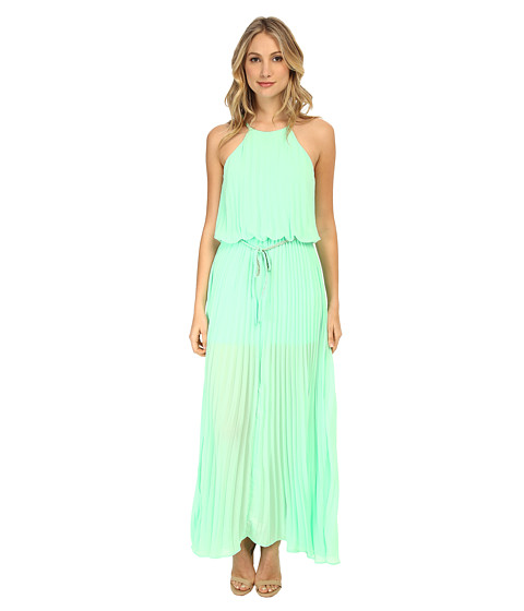 Gabriella Rocha - Courtney Pleated Maxi Dress with Belt (Mint) Women