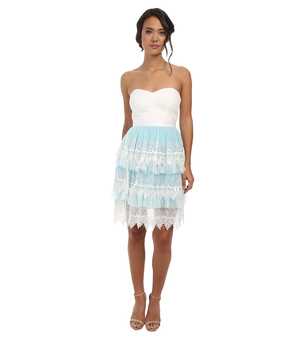 Gabriella Rocha - Flori Strapless Dress (Light Blue) Women