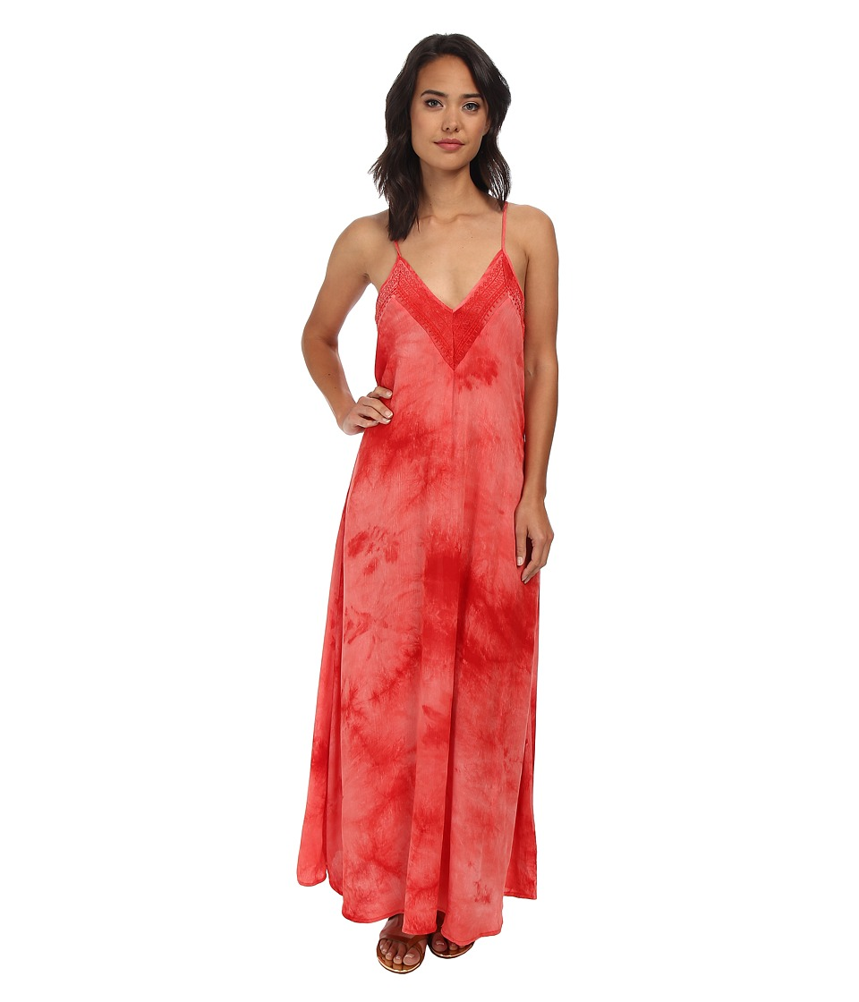 Gabriella Rocha - Alondra Maxi Dress (Hot Coral) Women's Dress