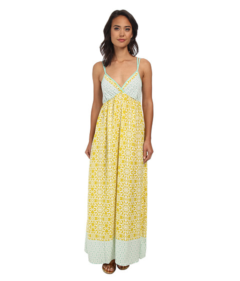 Gabriella Rocha - Alysia Mia Dress (Mint/Yellow) Women's Dress