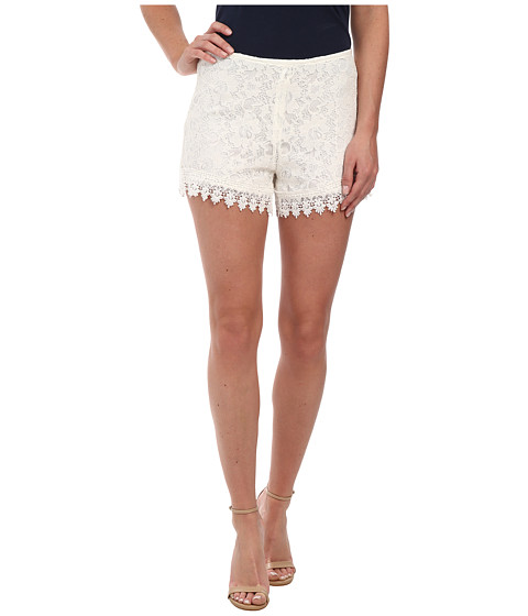 Jack by BB Dakota - Hartley Lace Shorts (Ivory) Women's Shorts