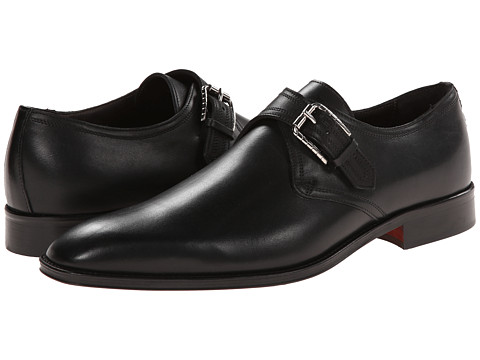 Testoni BASIC - D45765BRM (Prestige Calf Nero) Men's Shoes
