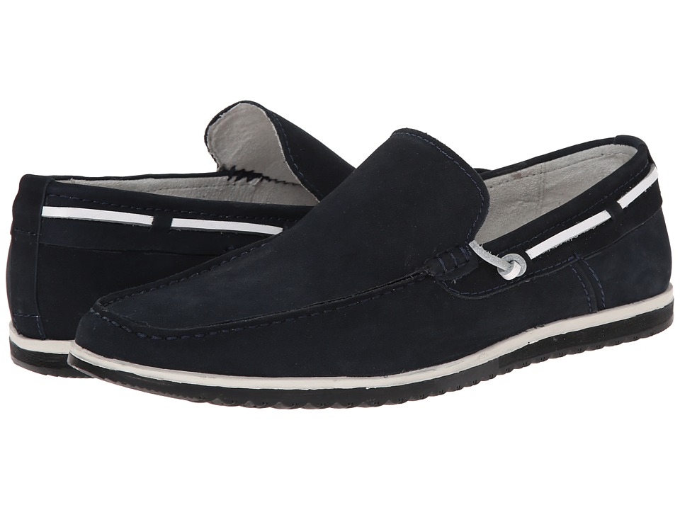 Kenneth Cole New York - Holy Joe (Navy) Men's Slip on Shoes
