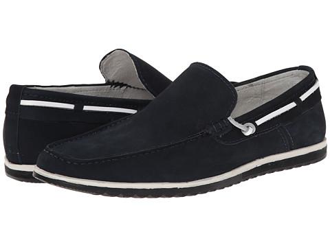 Kenneth Cole New York - Holy Joe (Navy) Men's Slip on Shoes