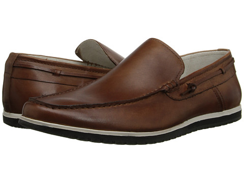 Kenneth Cole New York - Holy Joe (Cognac) Men's Slip on Shoes