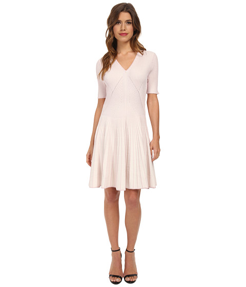 CATHERINE Catherine Malandrino - Winona Dress (Ivory/Rose/Gold) Women