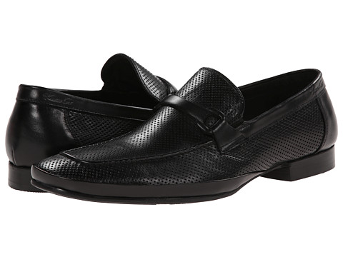 Kenneth Cole New York - Optic Image (Black) Men's Slip on Shoes