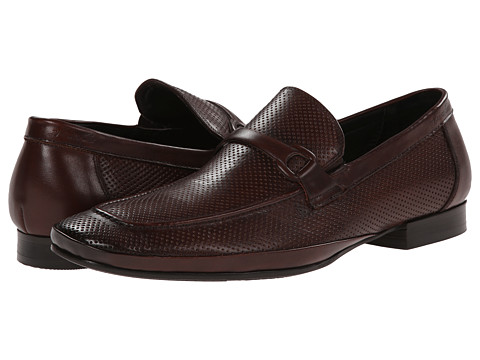 Kenneth Cole New York - Optic Image (Brown) Men's Slip on Shoes