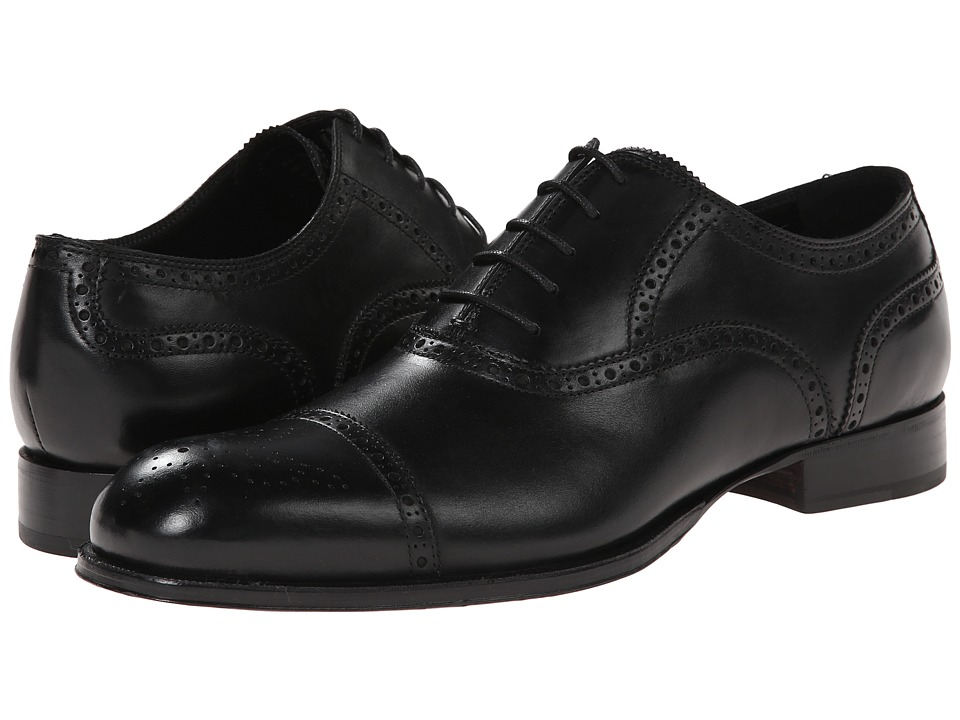 Kenneth Cole New York - Re-Store (Black) Men's Lace Up Cap Toe Shoes