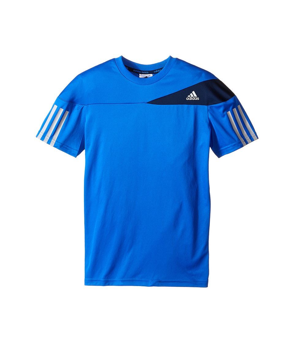 adidas Kids - Boys' Response Tee (Little Kid/Big Kid) (Blue/Midnight Solid Grey) Boy's T Shirt