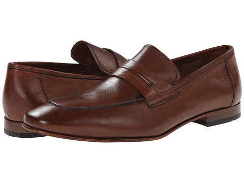 Kenneth Cole New York - Stick with Me (Cognac) Men's Slip on Shoes