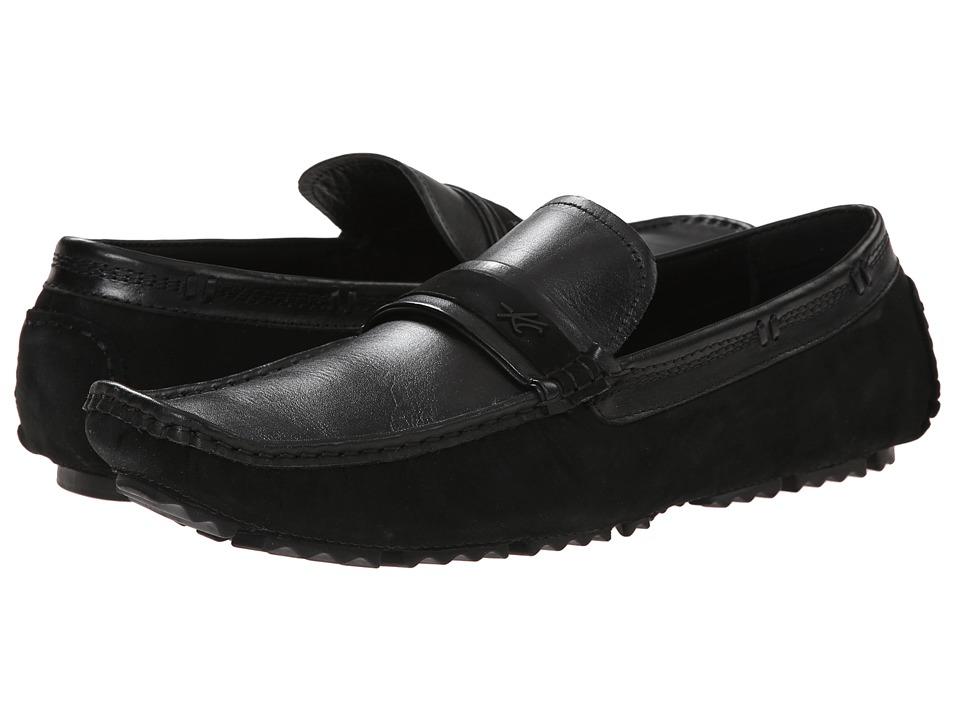 Kenneth Cole New York - Reign Or Shine (Black) Men's Slip on Shoes