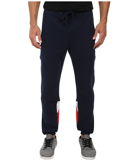Staple - Grand Slam Sweatpants (Navy) Men's Casual Pants