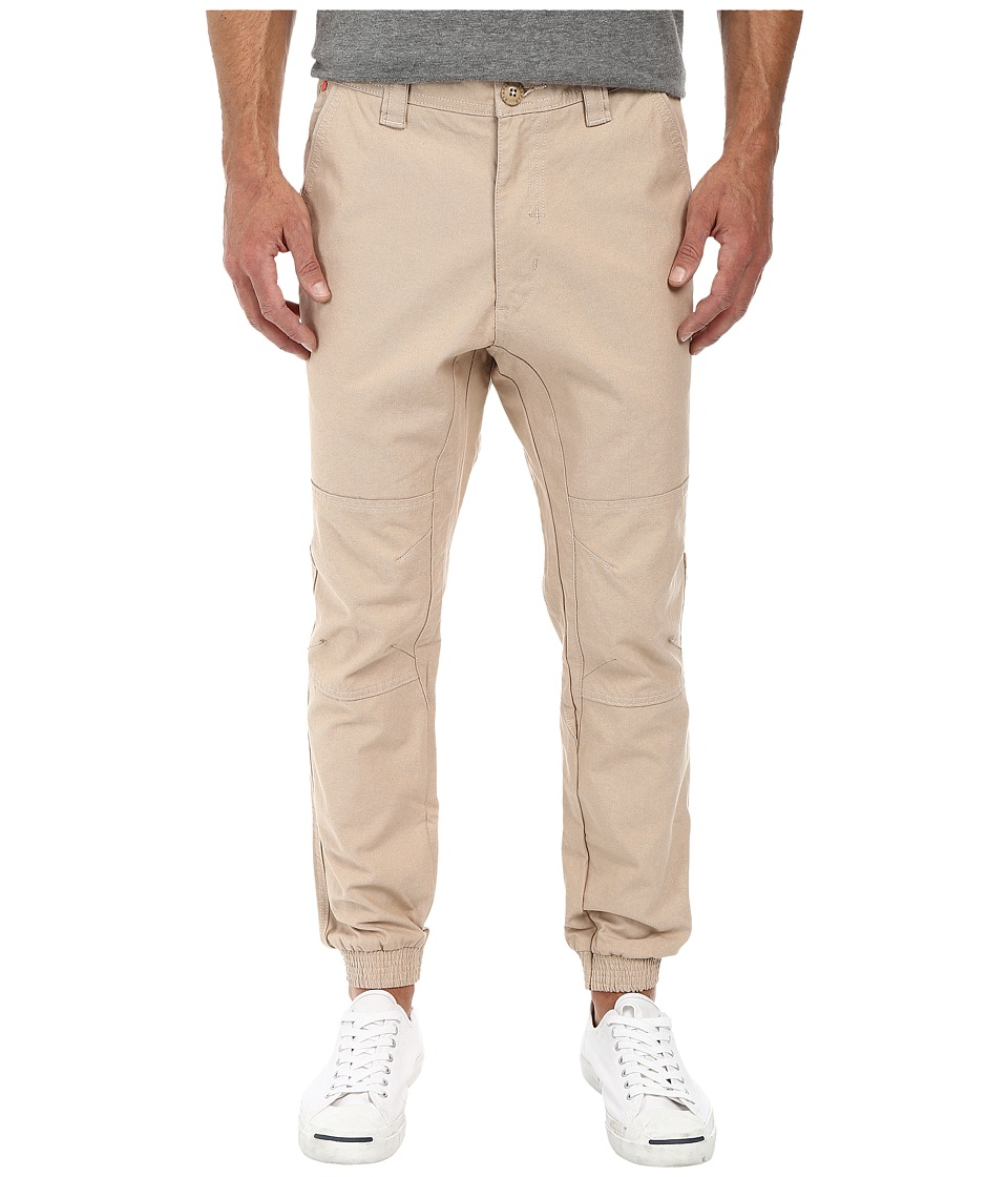 Staple - Rally Oxford Jogger (Khaki) Men's Casual Pants