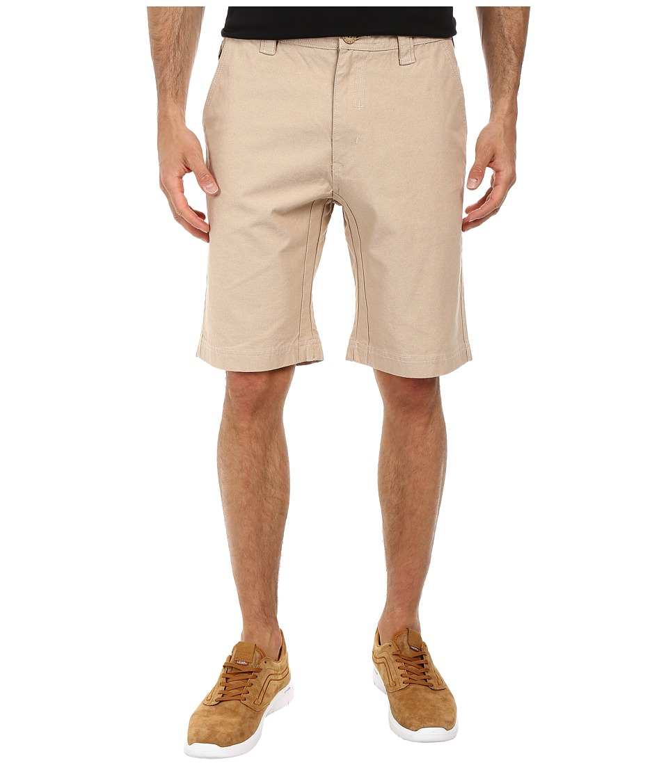 Staple - Rally Oxford Shorts (Khaki) Men