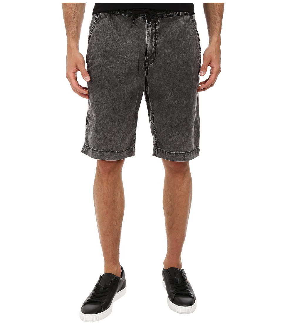 Staple - Java Denim Shorts (Black) Men