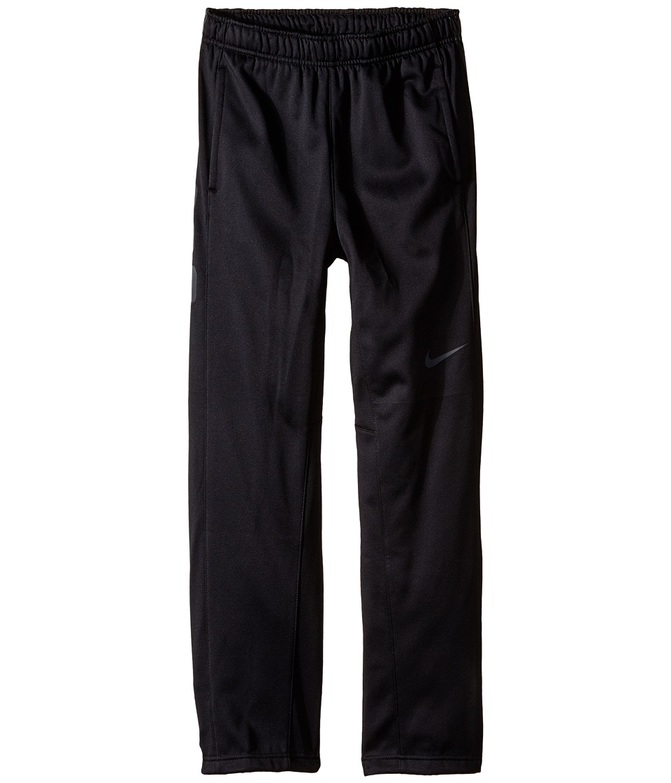 Nike Kids - Elite Stripe Pants (Little Kids/Big Kids) (Black/Black/Anthracite/Anthracite) Boy's Casual Pants