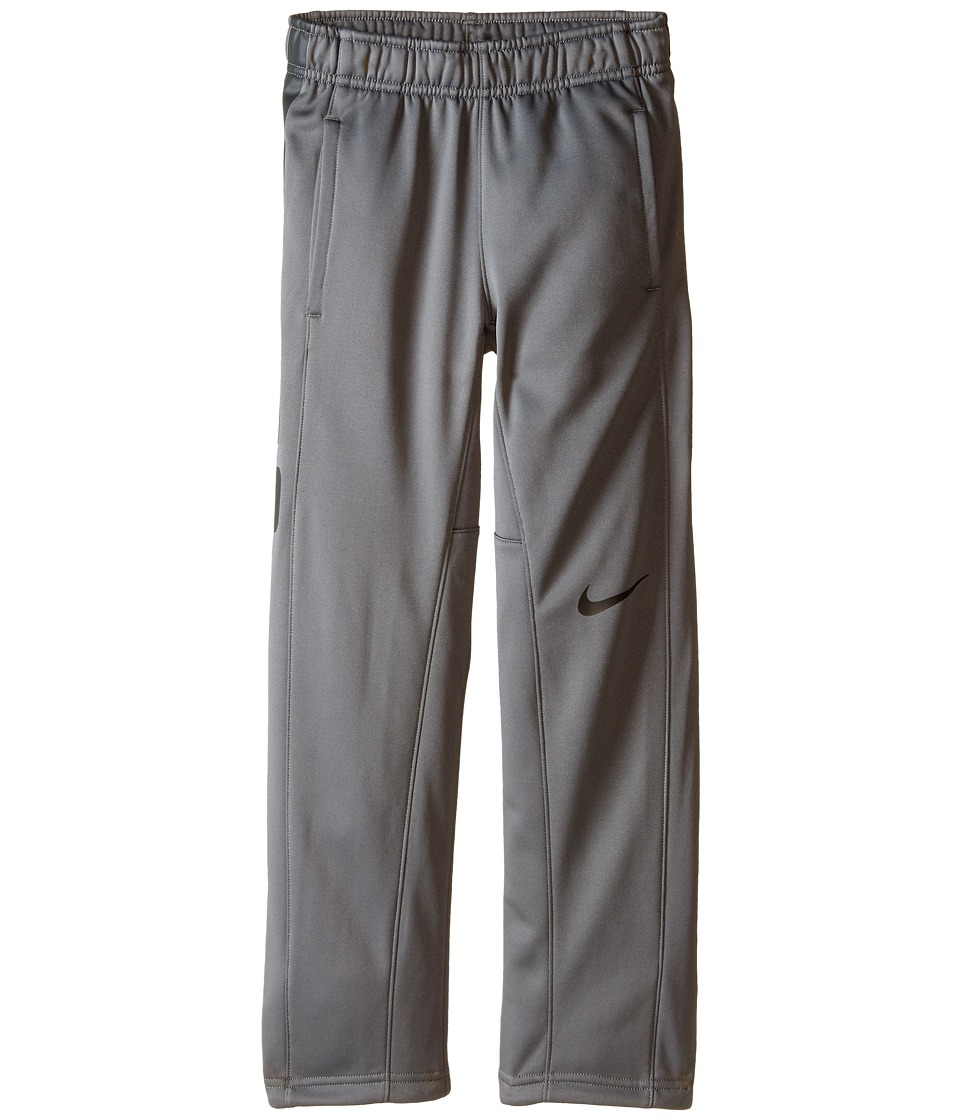 Nike Kids - Elite Stripe Pants (Little Kids/Big Kids) (Tumbled Grey/Tumbled Grey/Deep Pewter) Boy's Casual Pants
