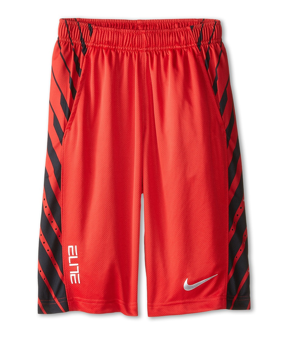 Nike Kids - Elite Powerup Shorts (Little Kids/Big Kids) (University Red/Metallic Silver) Boy's Shorts