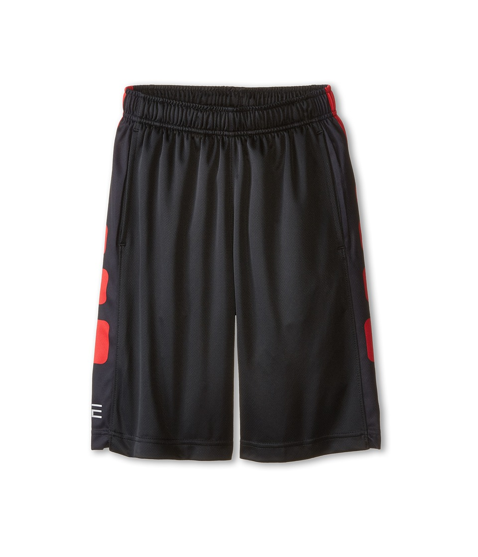 Nike Kids - Elite Stripe Short (Little Kids/Big Kids) (Black/University Red/University Red) Boy's Workout