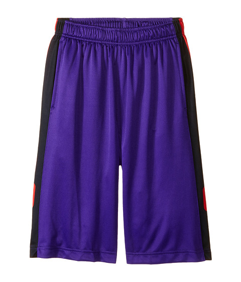 Nike Kids - Elite Stripe Short (Little Kids/Big Kids) (Court Purple/Black/Metallic Silver) Boy