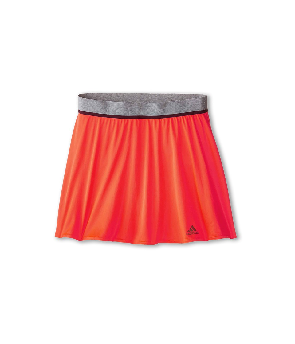 adidas Kids - Girls' Adizero Skort (Little Kid/Big Kid) (Solar Red/Copper Met.) Girl's Skort