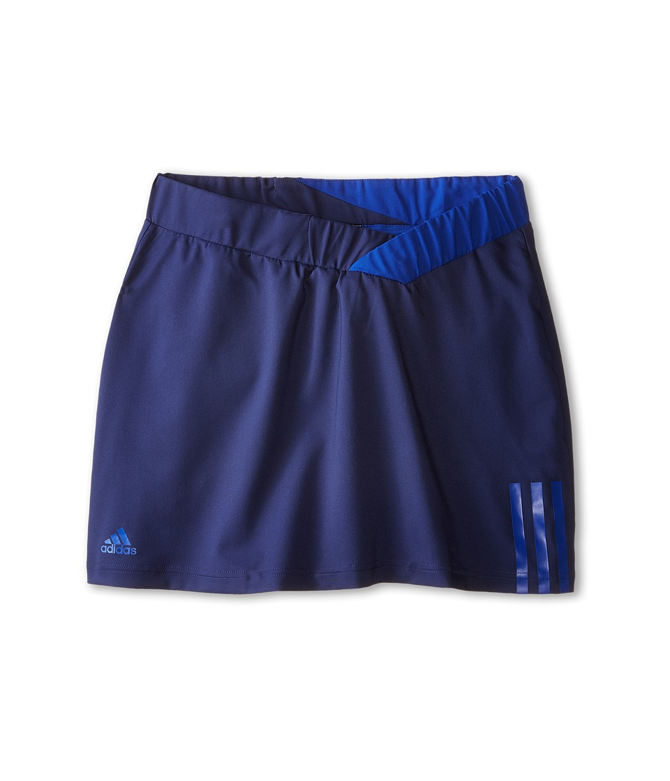 adidas Kids - Girls' Response Skort (Little Kid/Big Kid) (Midnight Indigo F15/Bold Blue) Girl's Skort