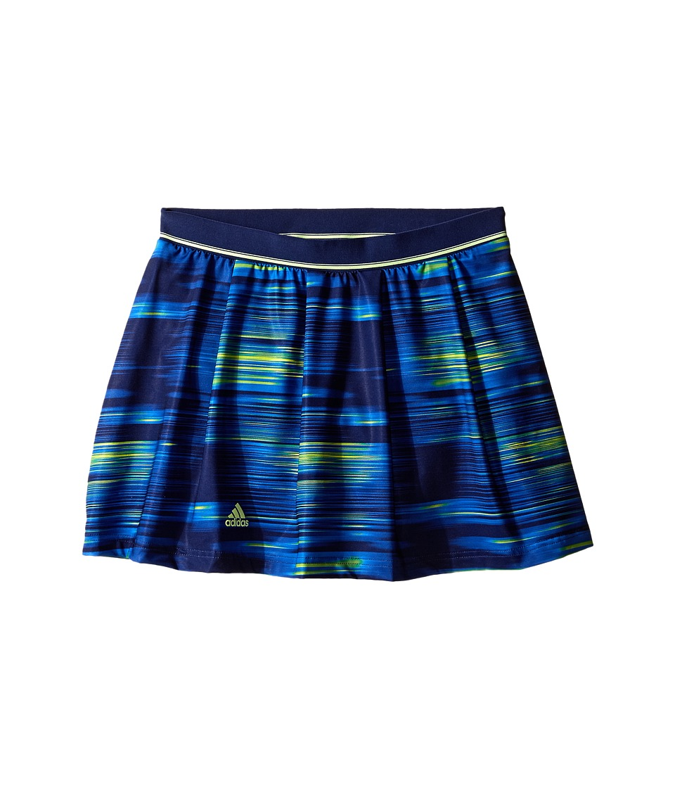 adidas Kids - Response Trend Skort (Little Kids/Big Kids) (Midnight Indigo F15/Frozen Yellow F15) Girl's Skort