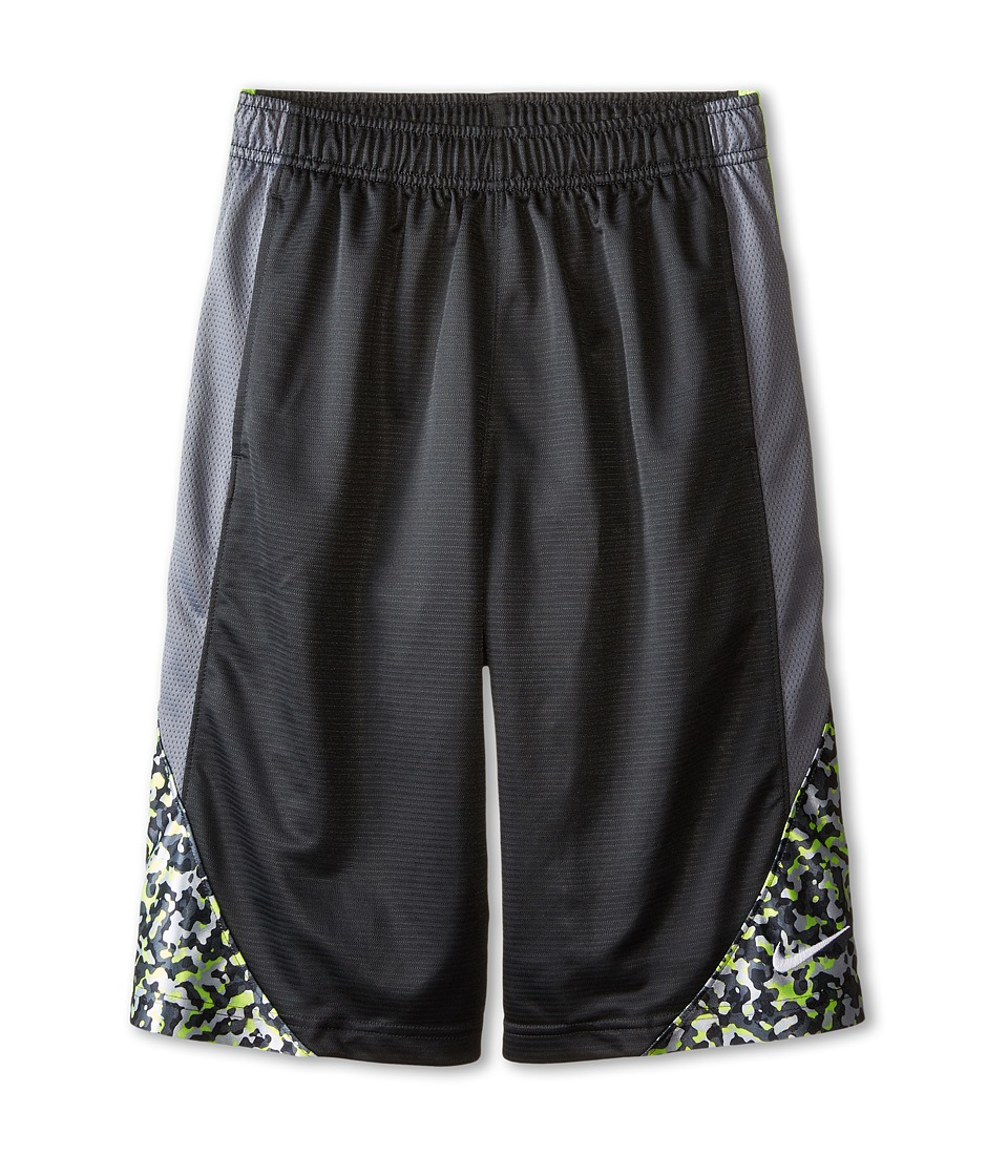 Nike Kids - Avlnch GFX 2.0 Shorts (Little Kids/Big Kids) (Anthracite/Cool Grey/Volt/White) Boy's Shorts