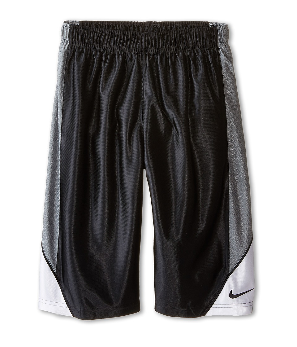 Nike Kids - Dunk Shorts (Little Kids/Big Kids) (Black/Cool Grey/White/Black) Boy