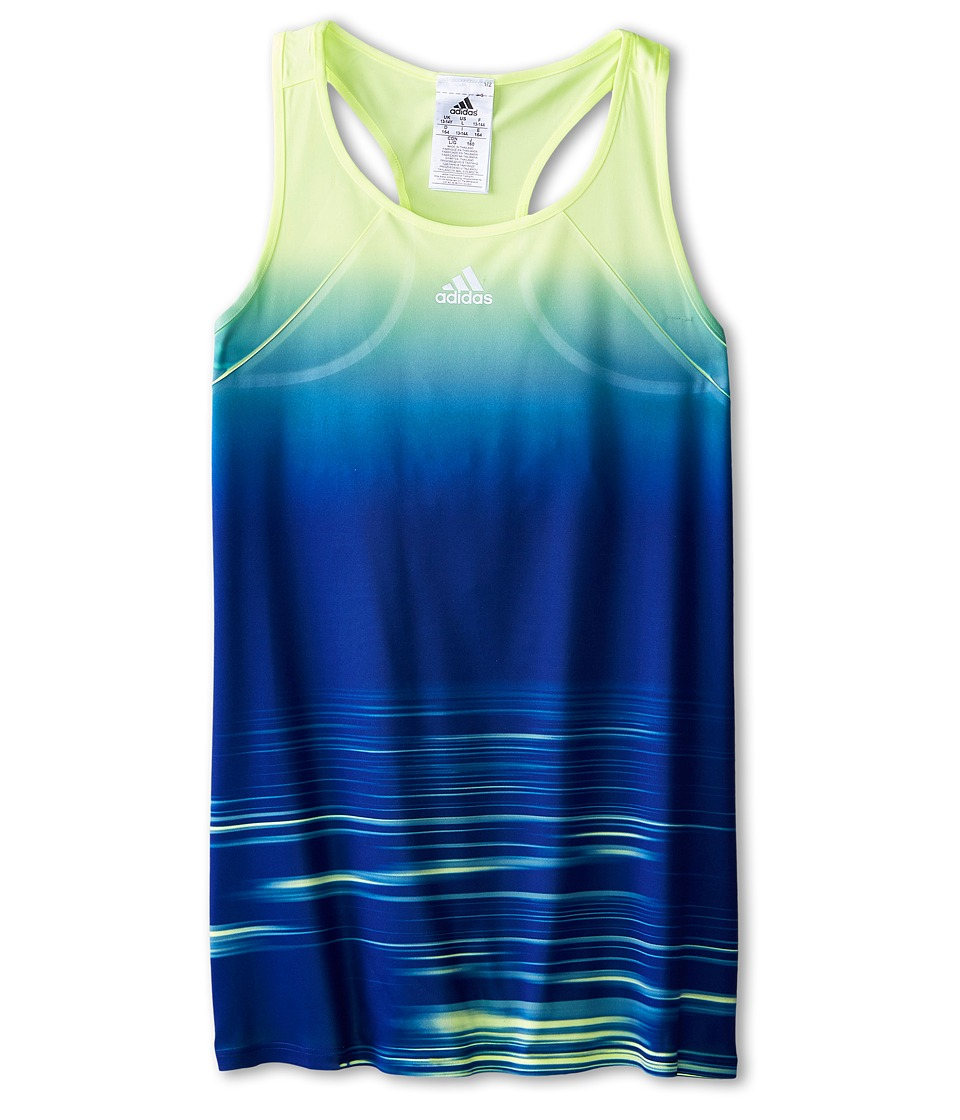 adidas Kids - Adizero Tank Top (Little Kids/Big Kids) (Bright Yellow/Frozen Yellow F15) Girl