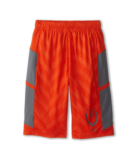 Nike Kids - Football Training Short (Little Kids/Big Kids) (Team Orange/Cool Grey/Cool Grey) Boy's Shorts
