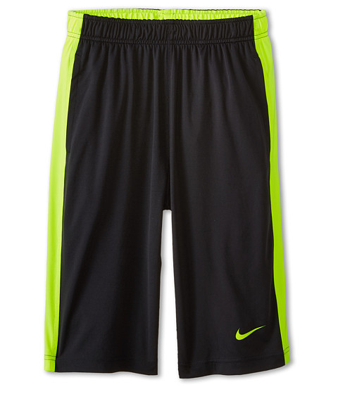 Nike Kids - Fly Short (Little Kids/Big Kids) (Anthracite/Volt/Volt/Volt) Boy