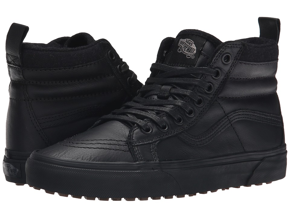 Vans - SK8-Hi MTE ((MTE) Black/Leather) Skate Shoes