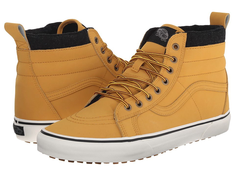 Vans - SK8-Hi MTE ((MTE) Honey/Leather) Skate Shoes