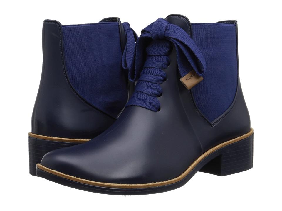 Bernardo - Lacey Rain (Navy) Women's Rain Boots