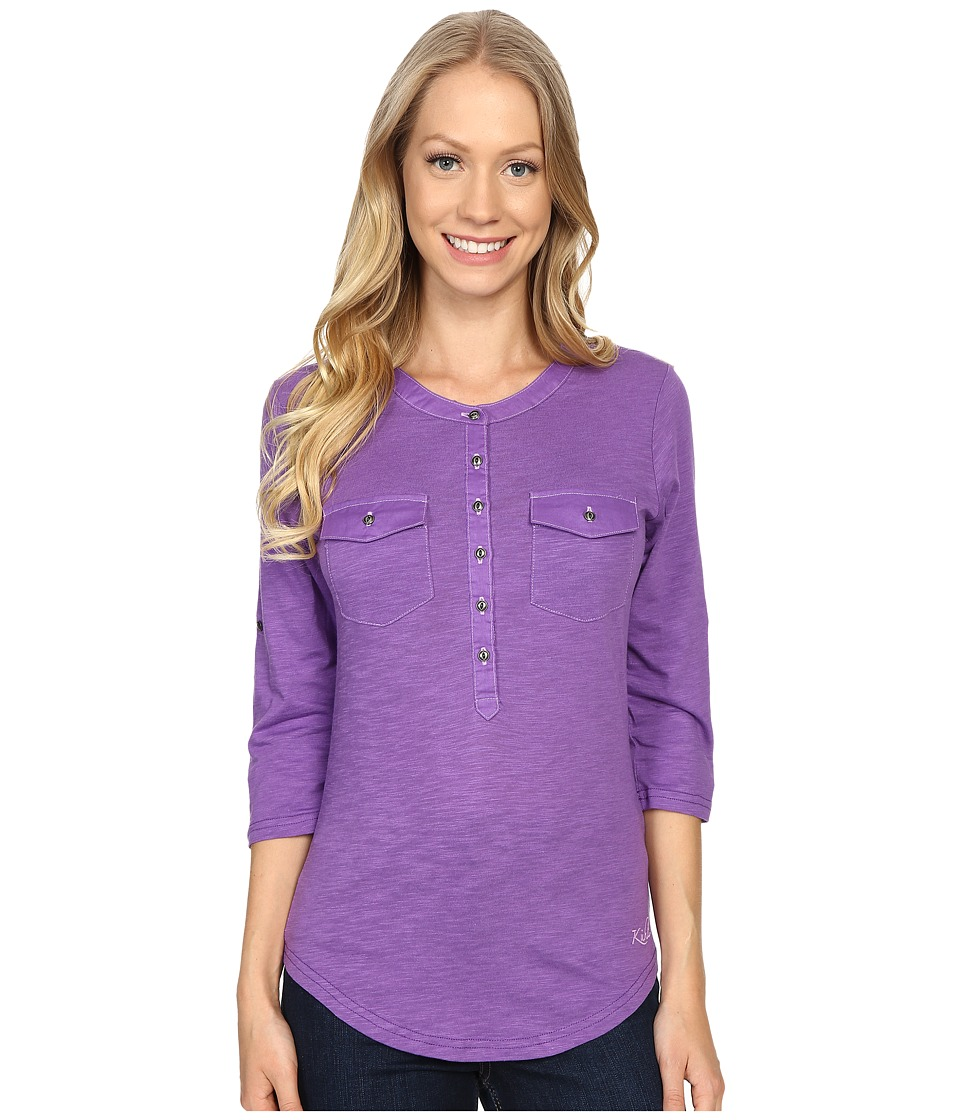 Kuhl - Khloe (Deep Lilac) Women's Long Sleeve Pullover