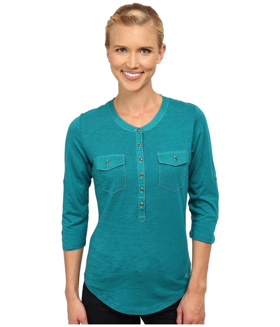 Kuhl - Khloe (Seaglass) Women's Long Sleeve Pullover