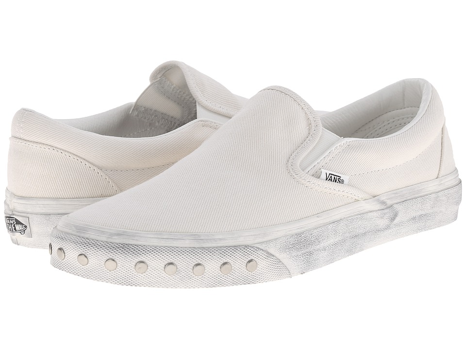 Vans - Classic Slip-On ((Overwashed) Blanc de Blanc) Skate Shoes