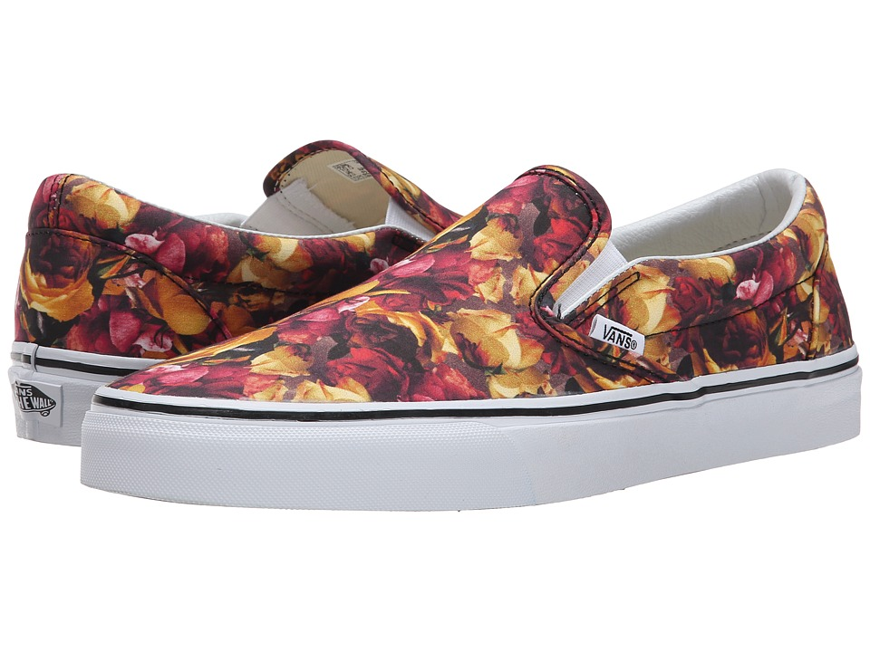 Vans - Classic Slip-On ((Digi Floral) Multi/True White) Skate Shoes