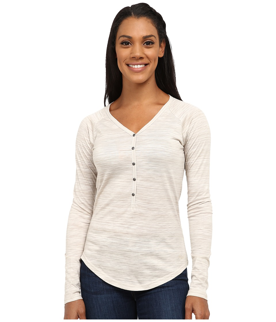 KUHL - Bella Long Sleeve Top (Cream Stripe) Women's Long Sleeve Pullover