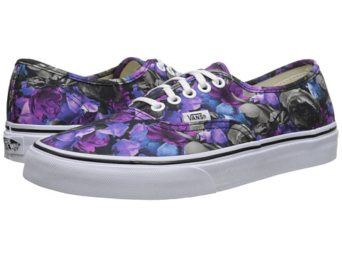 Vans - Authentic ((Digi Floral) Multi/True White) Skate Shoes