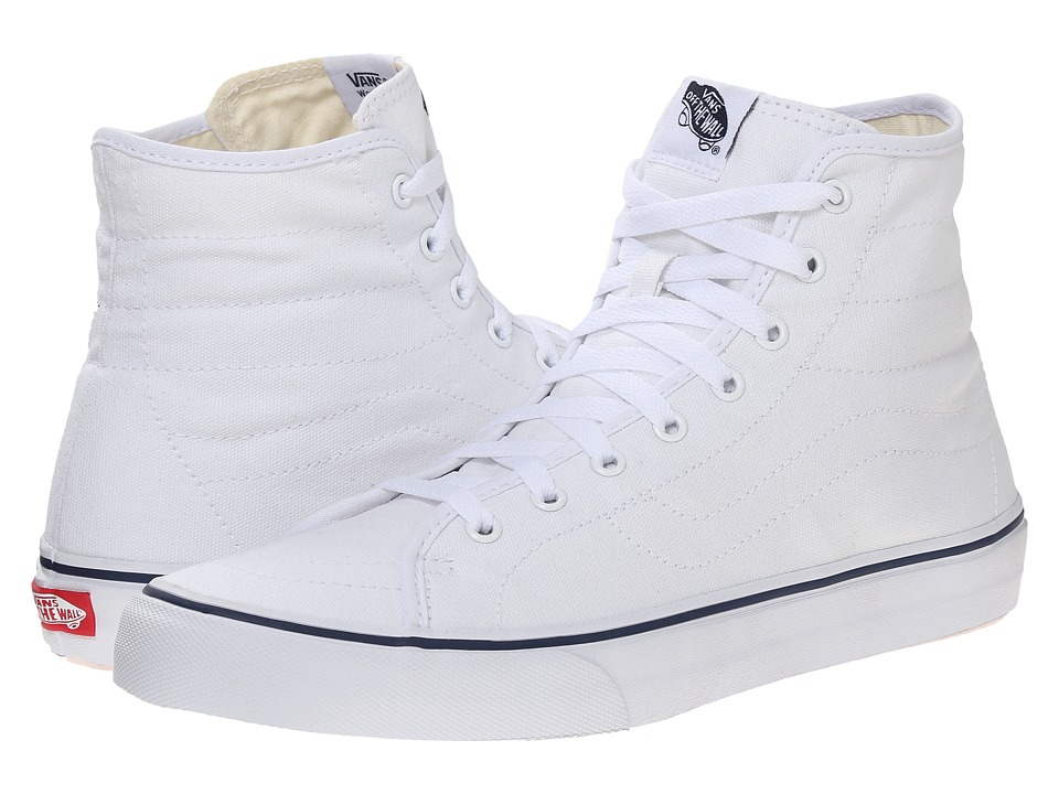 Vans sk8hi DECON CLASSIC CANVAS True White Dress Blues