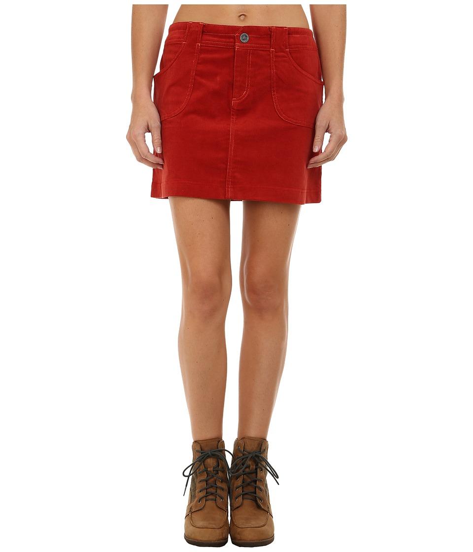 KUHL Korytm Skirt (Burnt Sienna) Women